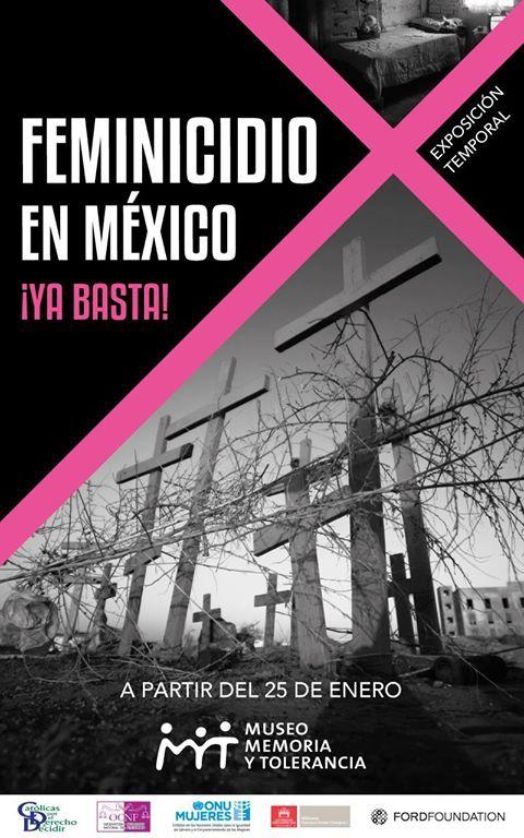 Teresa Margolles forma parte de la exposición Feminicidios en México ¡Ya basta!