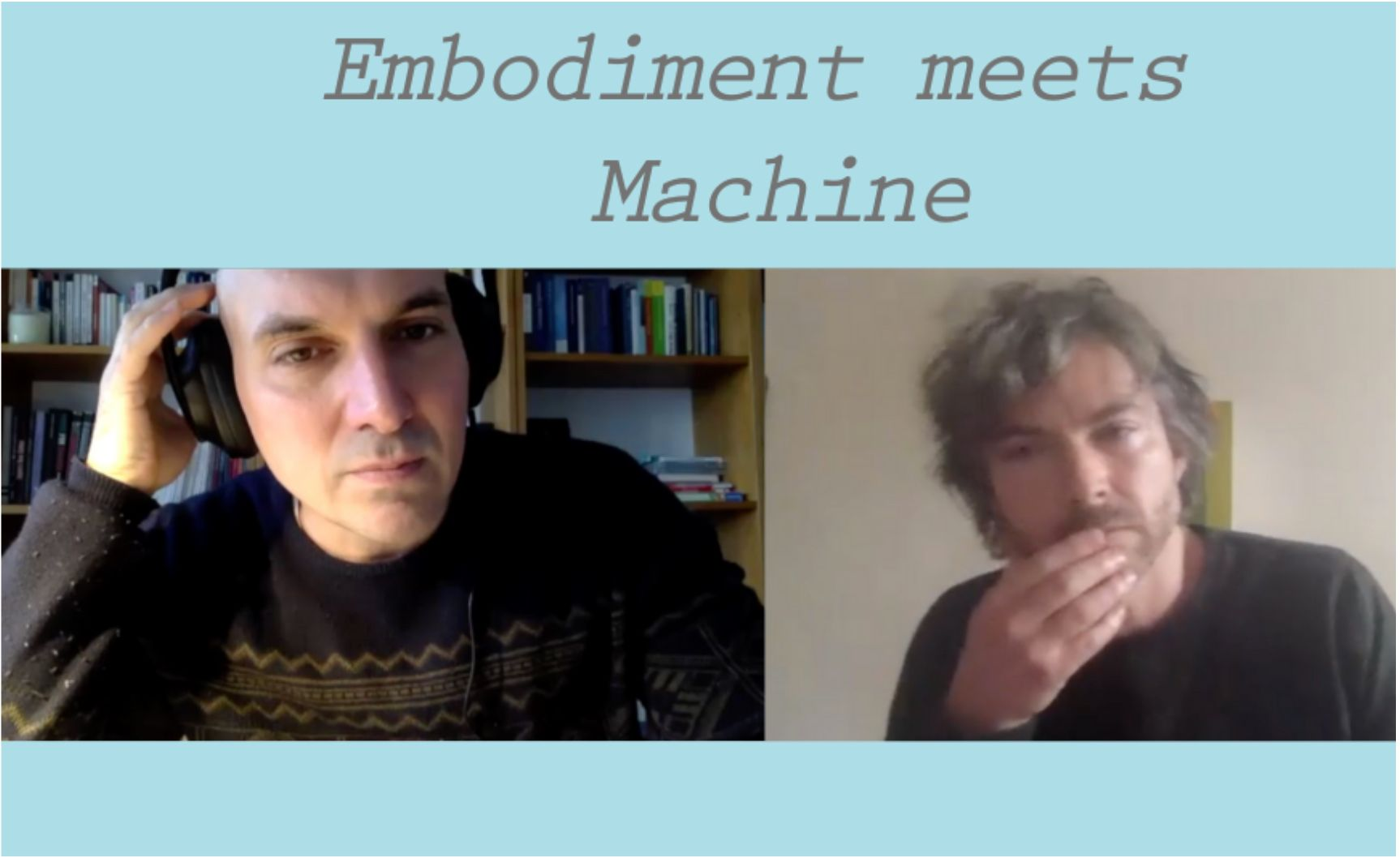 Embodiment Meets Machine | Now available on Vimeo