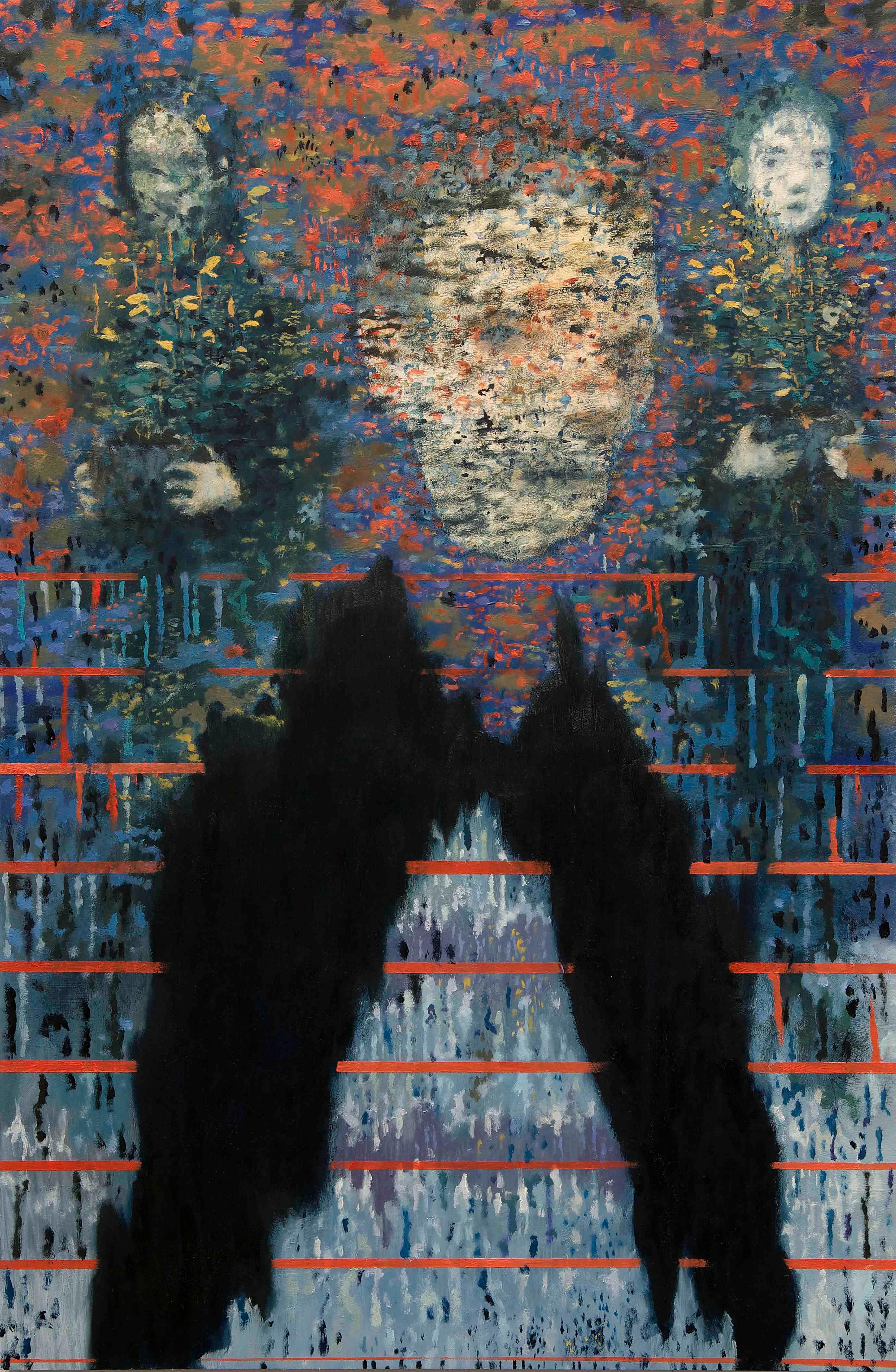 Others Will See | Óleo sobre aluminio | 38 x 25 cm |2014-2015