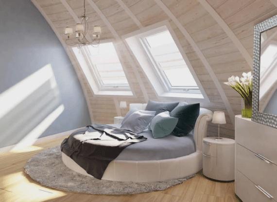 Вікна Rehau в спальні