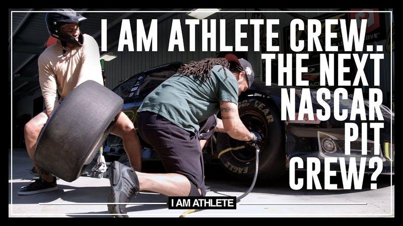 I AM ATHLETE Crew...The Next NASCAR Pit Crew?