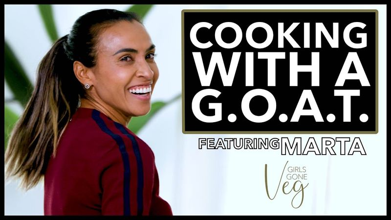 Cooking With A GOAT w/ Marta
