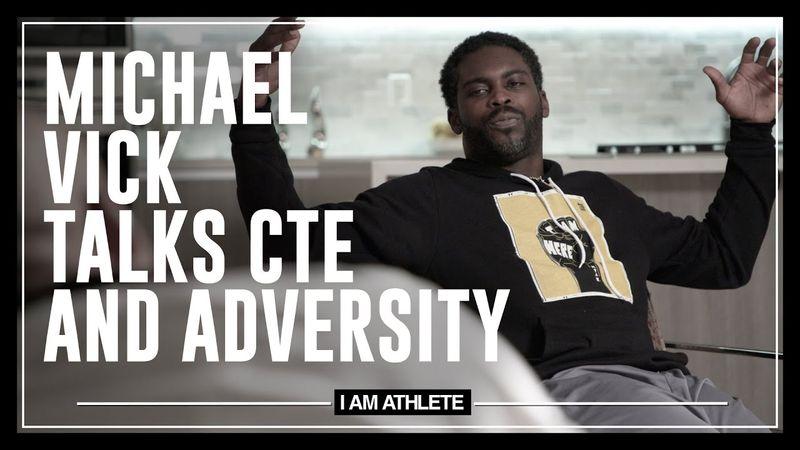Michael Vick Talks CTE & Adversity