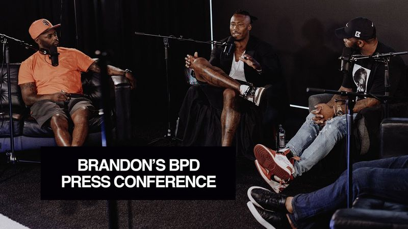 Brandon Marshall Gets Emotional Remembering His 2011 Press Conference