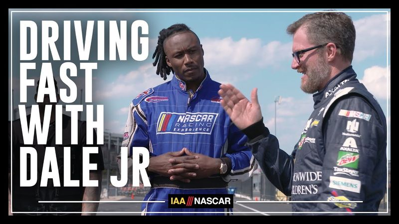 Driving Fast With Dale Jr.
