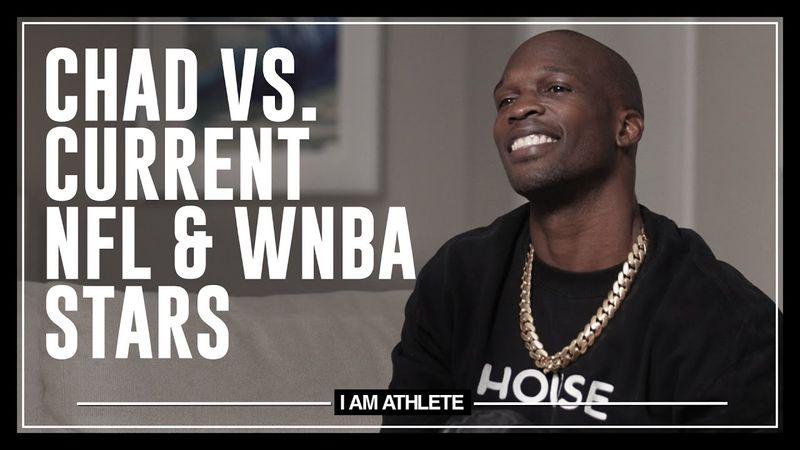 Chad vs. Current NFL & WNBA Stars