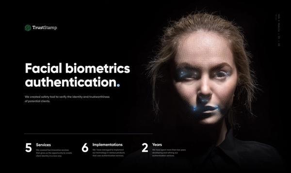 Trust Stamp Facial Biometrics Authentication image