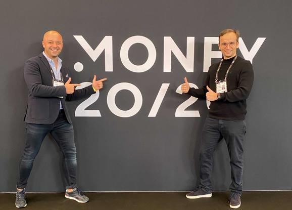 Karol Stępień and Maciej Cielecki at Money 20/20