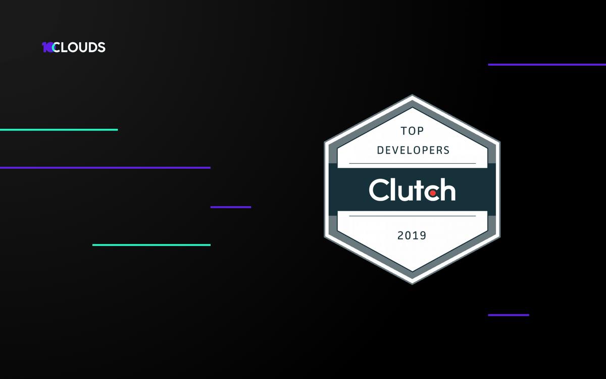 10Clouds top Clutch Leader Award