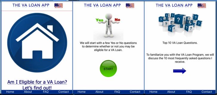 The VA Loan App