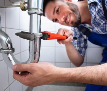 Home renovation task - plumbing.