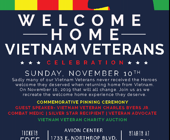 Vietnam Vets Welcome Home Event