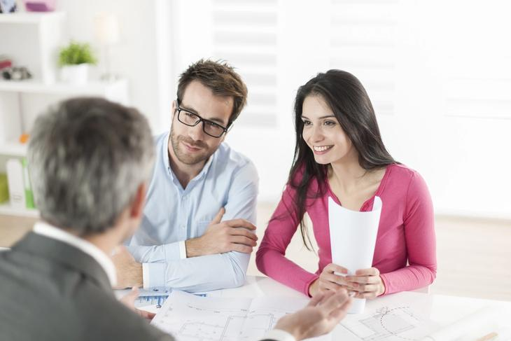 Discussing rent reporting with home loan officer.