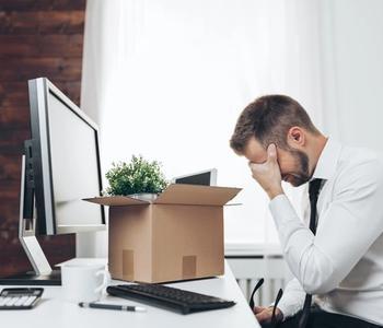 Worker layoff from work
