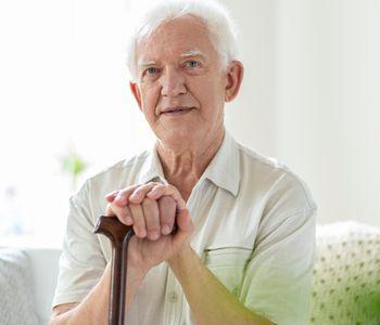 Veteran in hospice care.