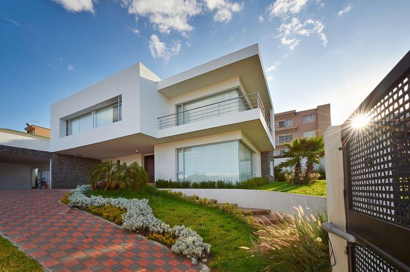 Beautiful modern house.