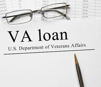 VA loan documents.