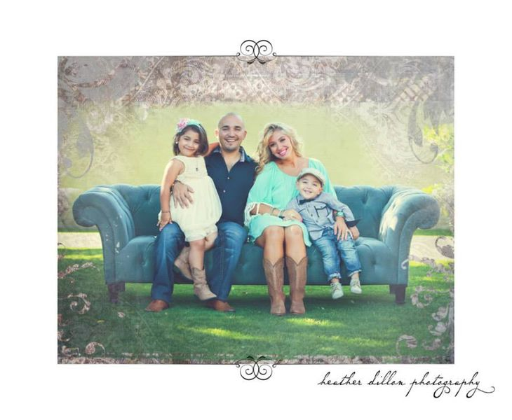 Mortgage lender Jimmy Vercellino with his wife and family