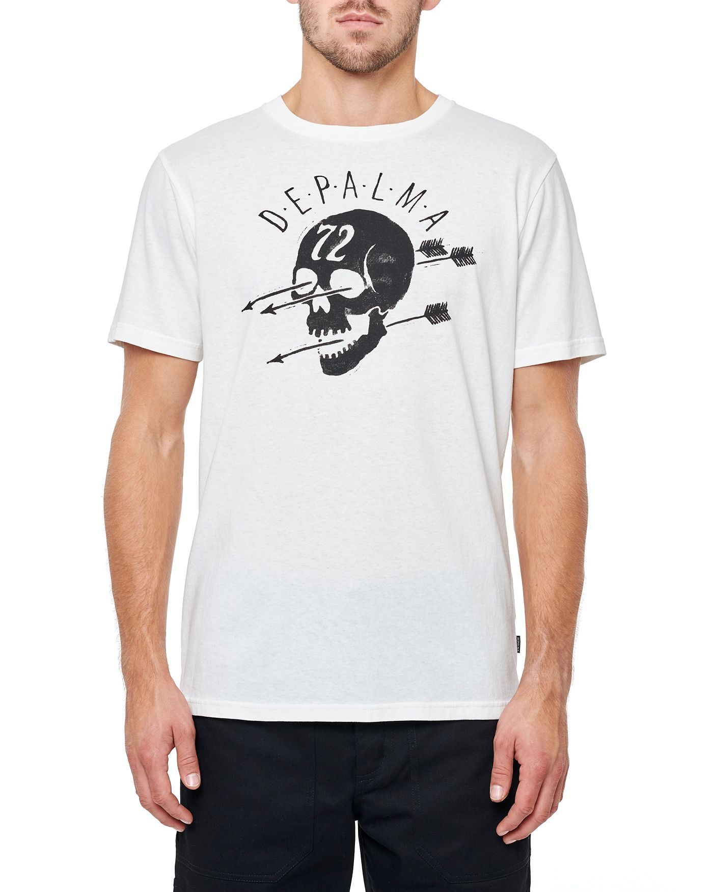 Photo of Skull & Arrows S/S T-shirt, White
