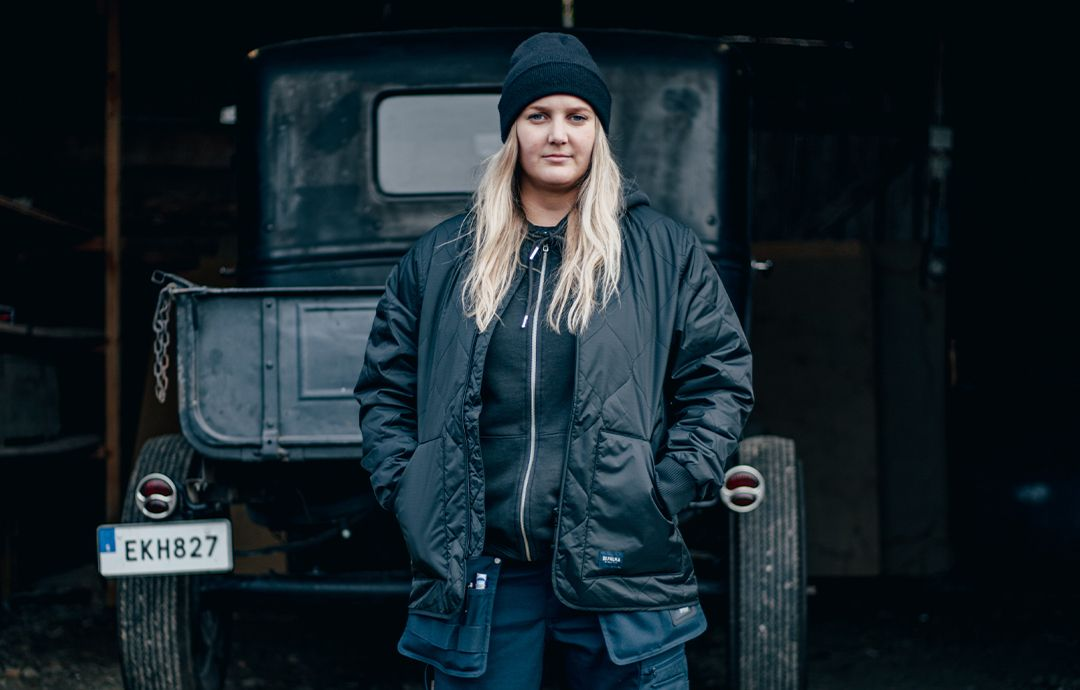 Jonna - Hot Rod byggare