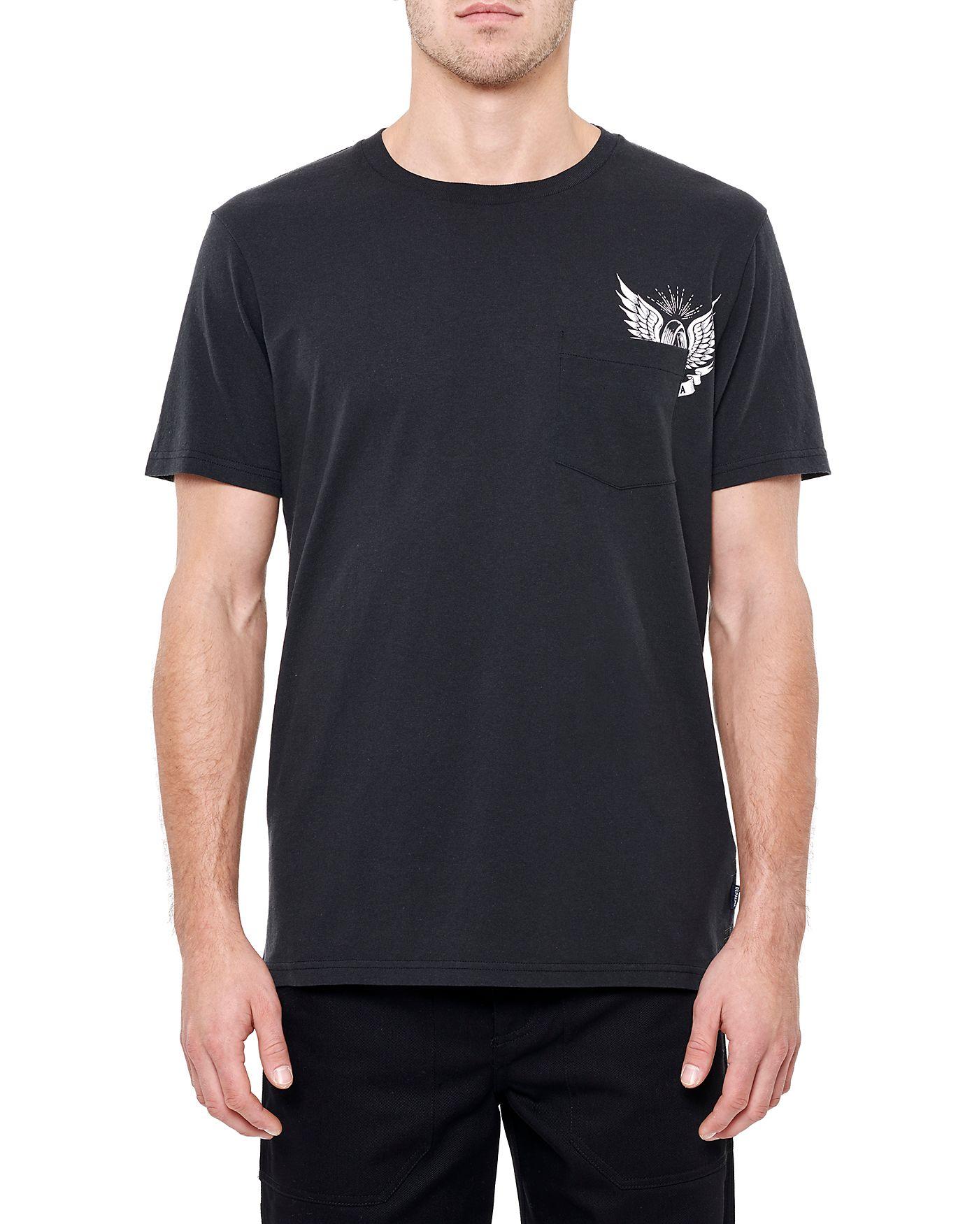 Photo of Thunder Road Pocket S/S Pocket T-shirt, Black