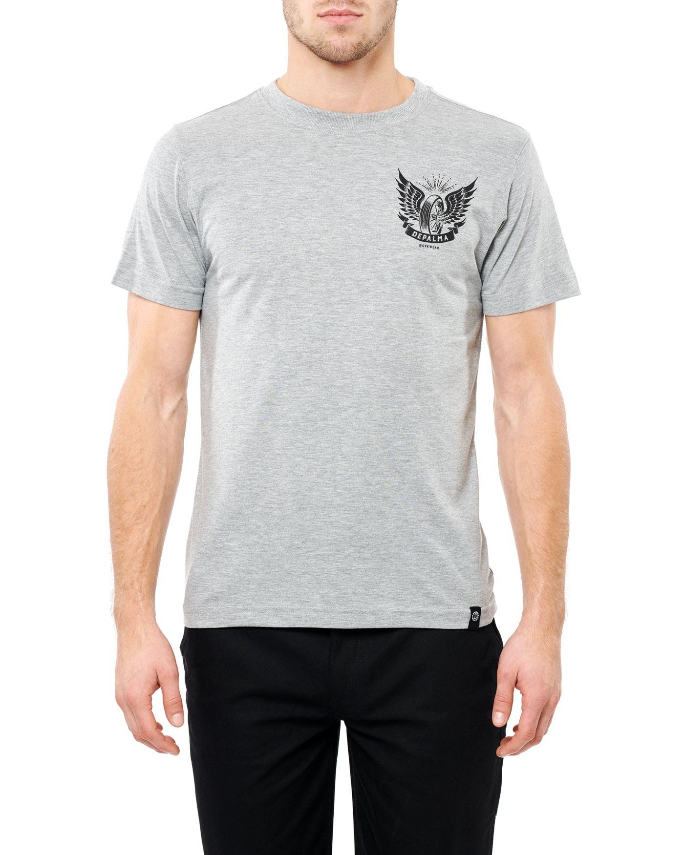 Photo of Thunder Road S/S T-shirt, Grey Melange
