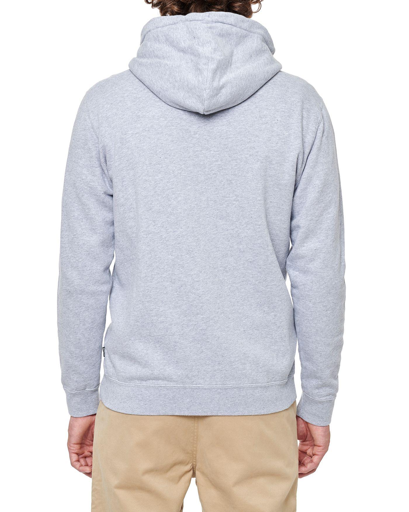 Photo of DPWW Zip Hooded Sweatshirt, Grey Melange