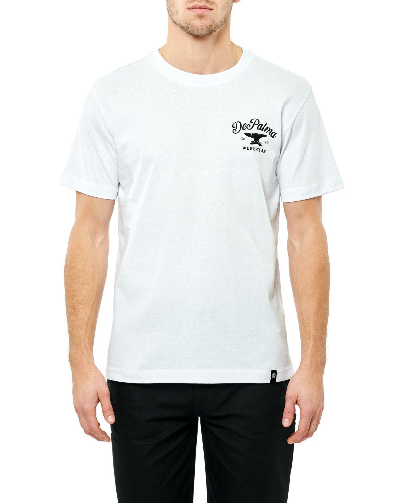 Photo of Anvil S/S T-shirt, White