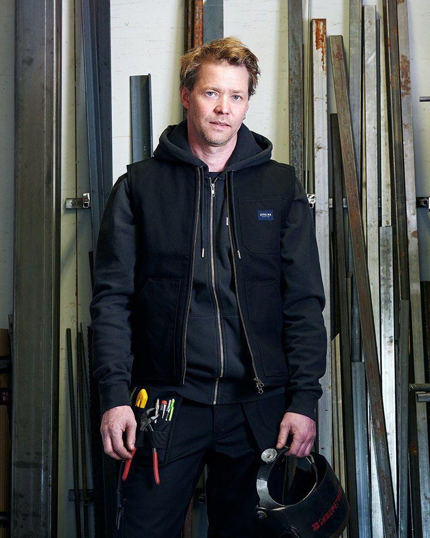 Photo of Factory Padded Vest, Black