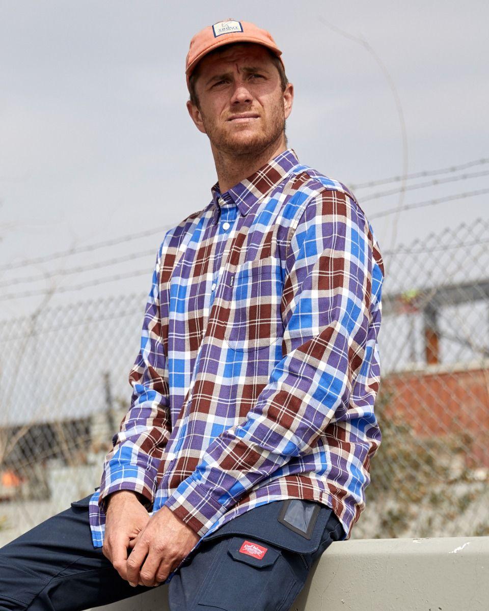 Photo of Bush L/S Shirt, Dazzling Blue