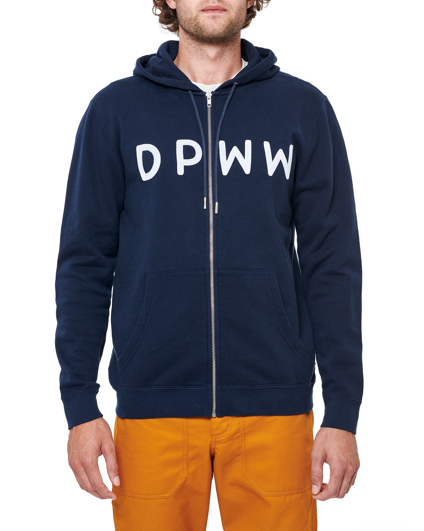 Photo of DPWW Zip Hooded Sweatshirt, Navy