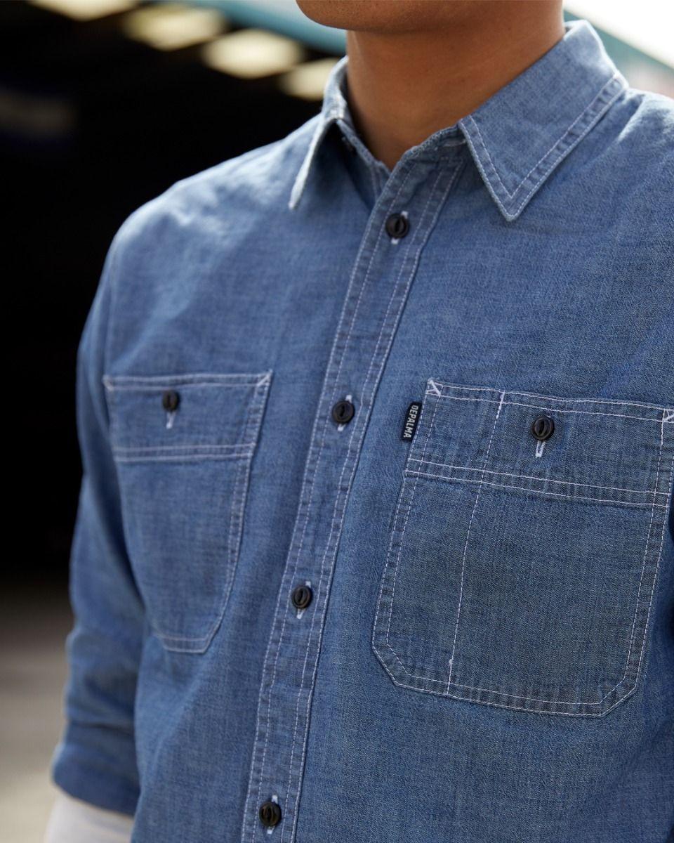 Photo of Uppity L/S Shirt, Dark Blue
