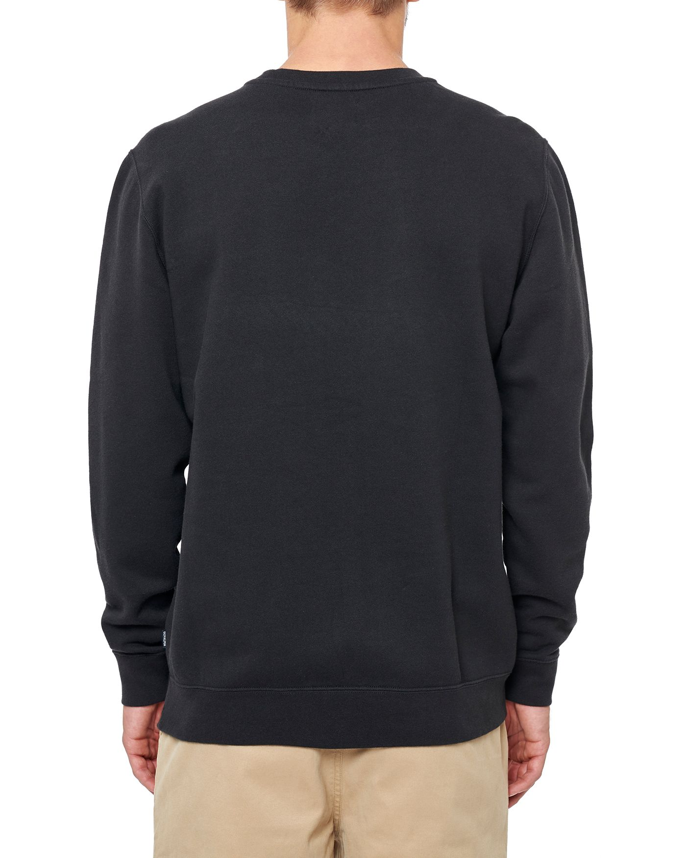 Photo of Handlebars Crewneck Sweatshirt, Black
