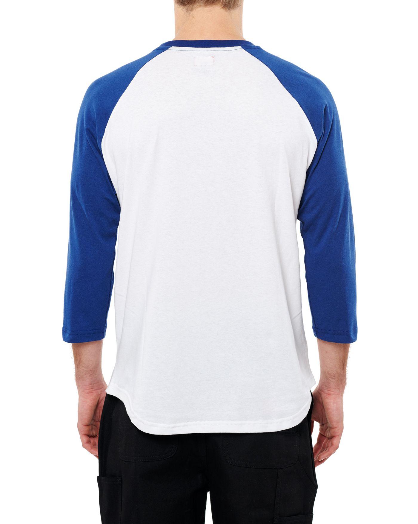 Photo of Nothing Man 3/4 Raglan T-shirt, White