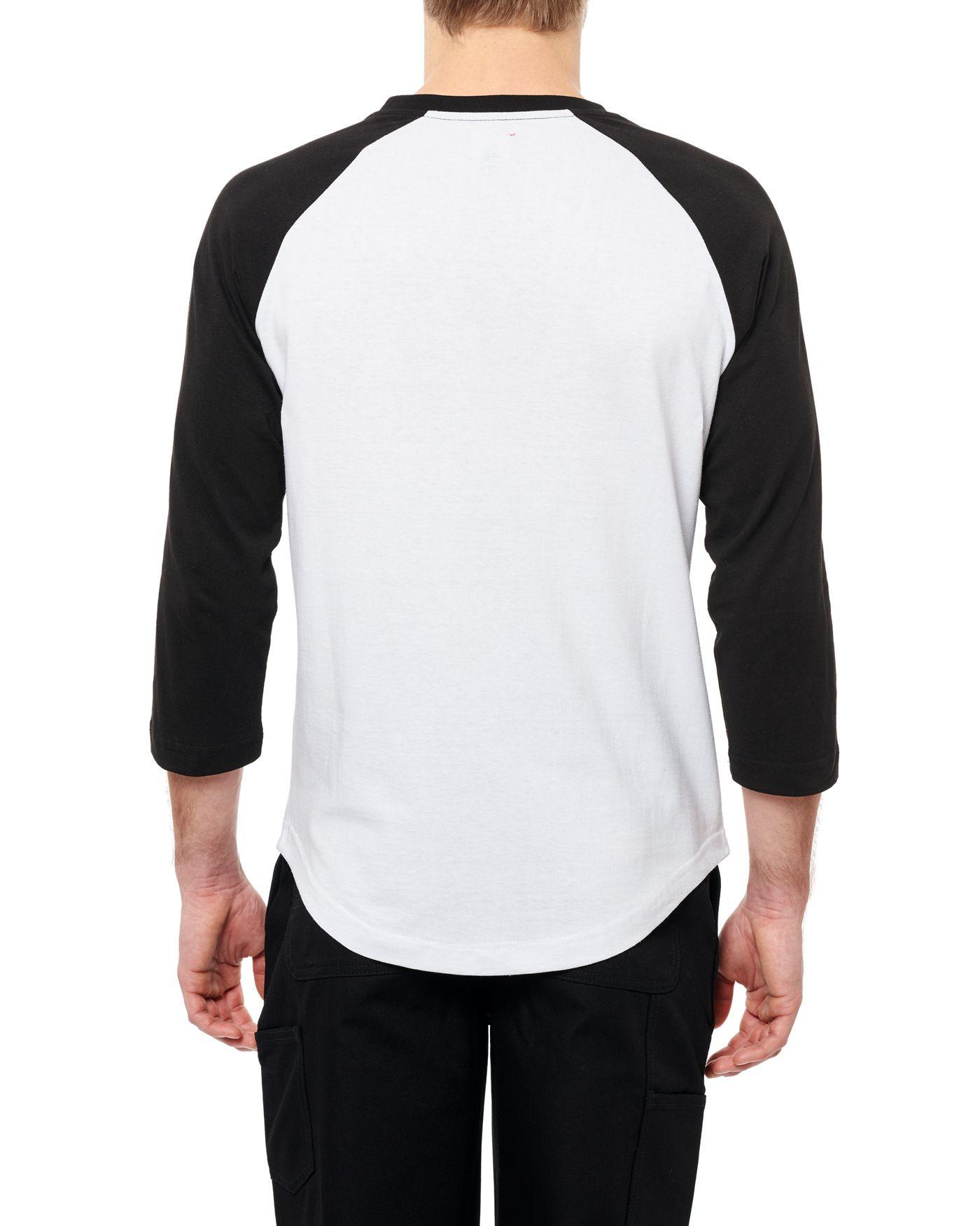 Photo of Wildcat 3/4 Raglan T-shirt, White