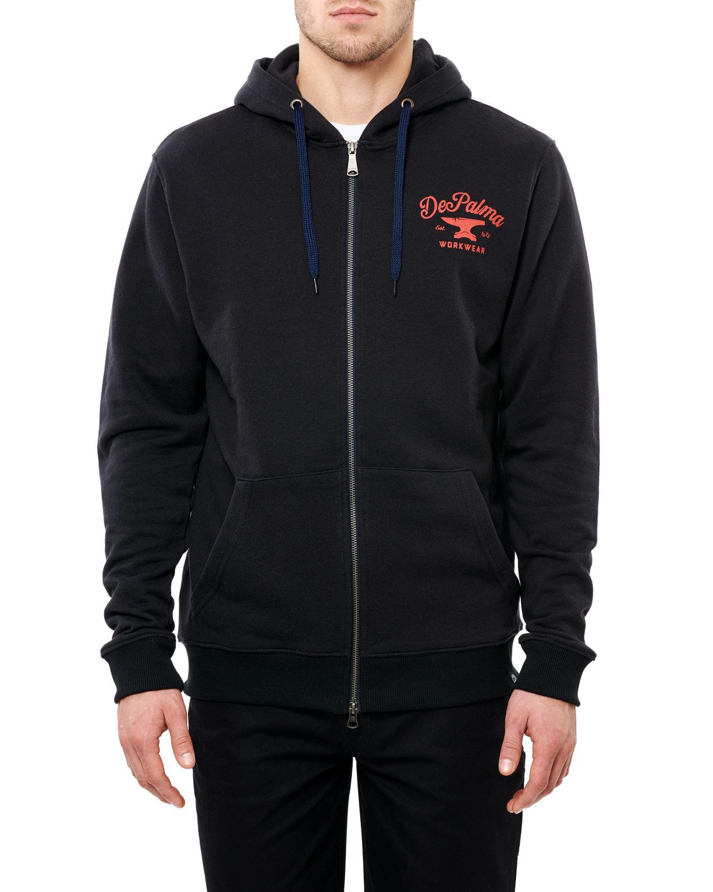 Photo of Anvil Zip Hooded Sweatshirt, Navy