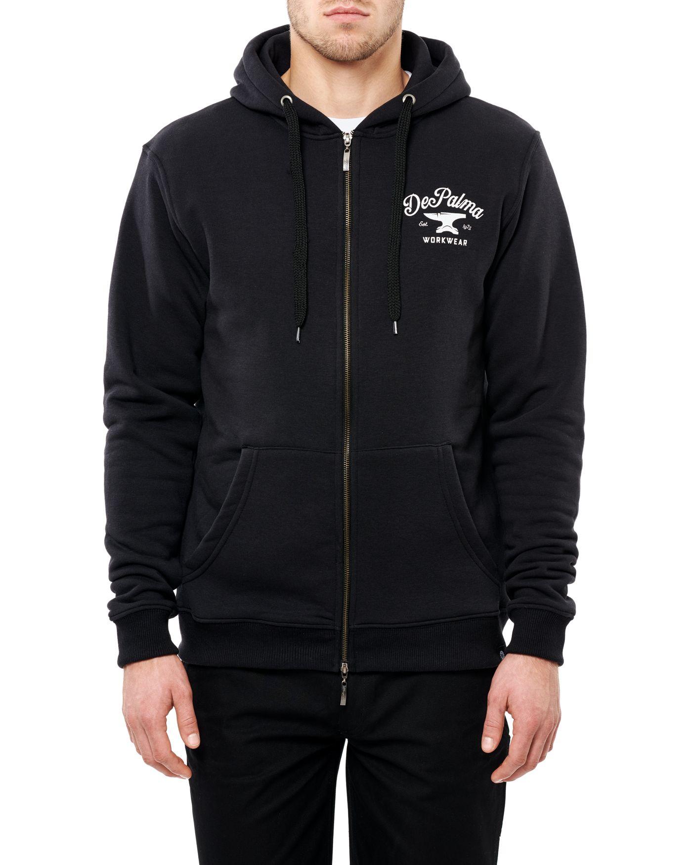 Photo of Anvil Zip Hooded Sweatshirt, Black