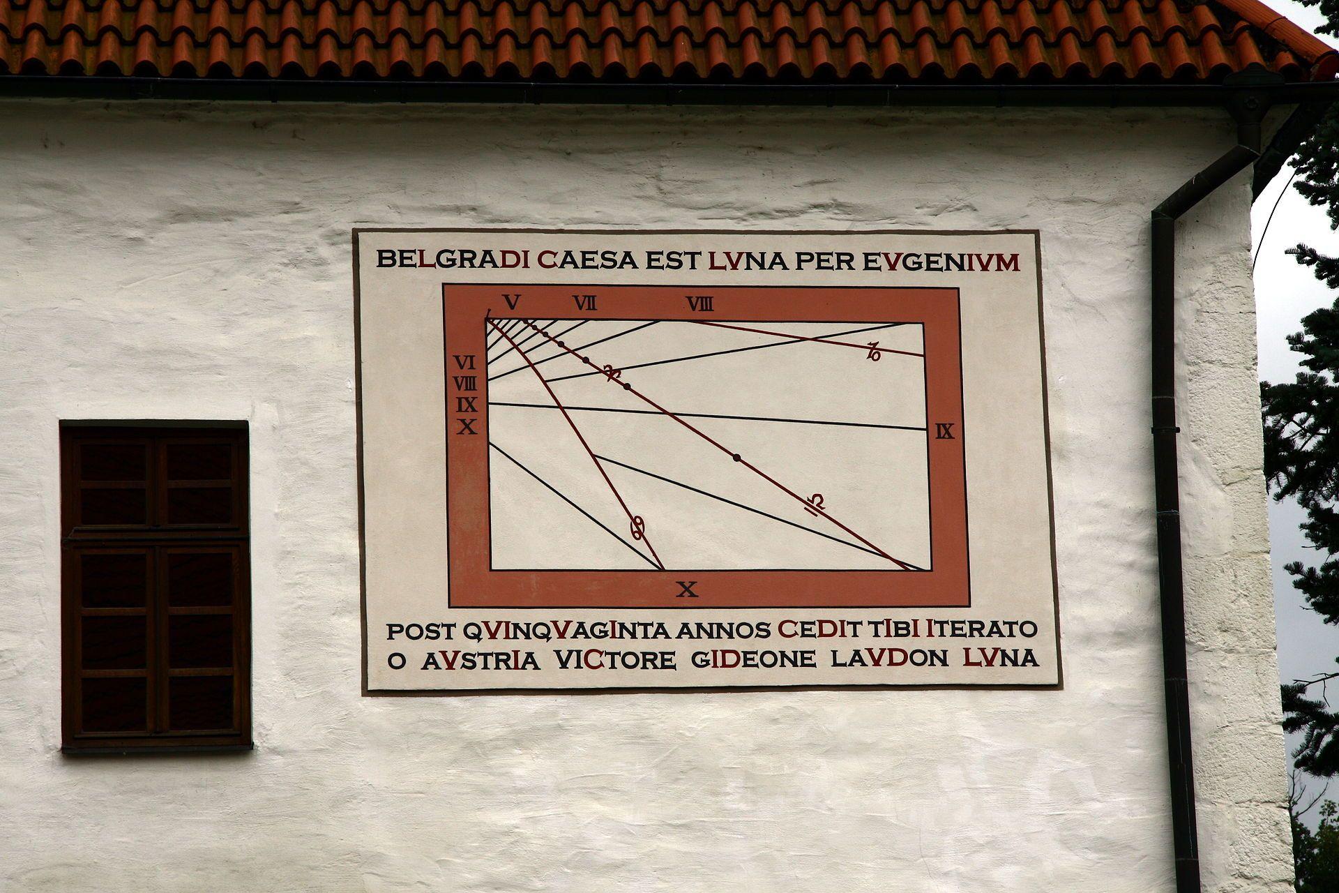 chronogram v Milevsku
