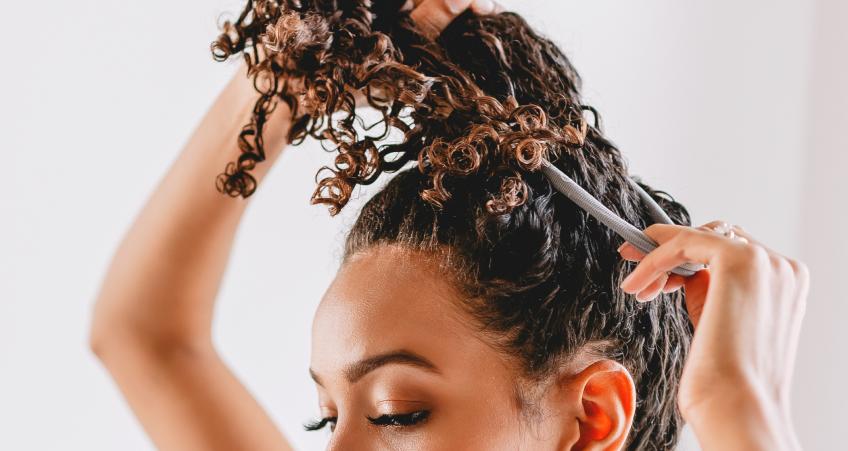 Long & Curly Hair image