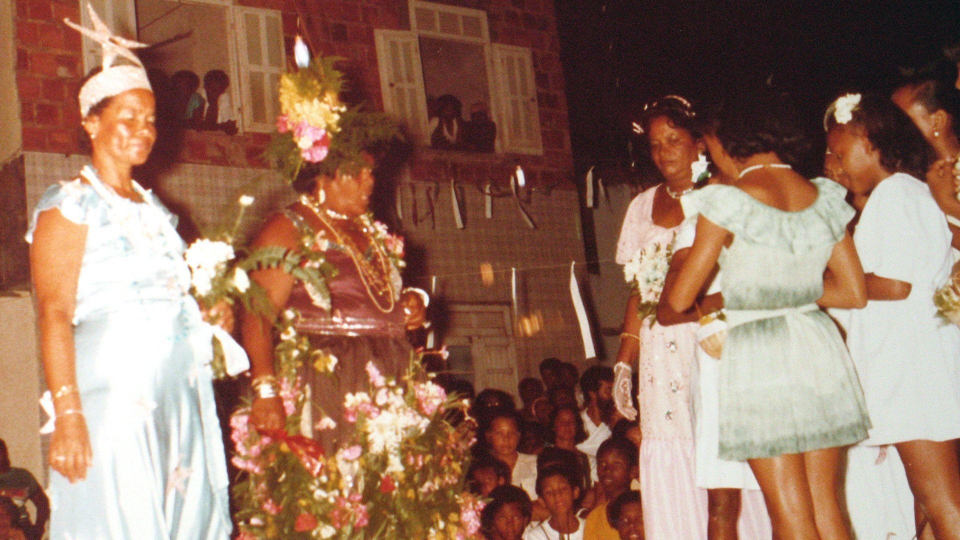 Encenação Rancho do Zé do Vale. Foto: Acervo da Associação Cultural As Ganhadeiras de Itapuã