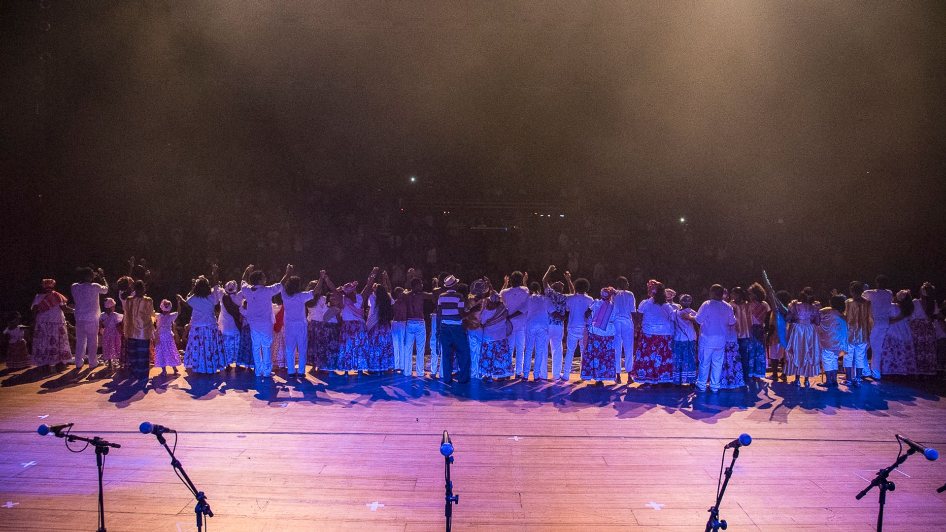 Show no TCA. Foto: Rosilda Cruz