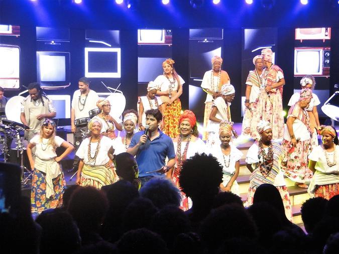 Chegada da TV Digital na Bahia. Foto: Associação Cultural Ganhadeiras de Itapuã