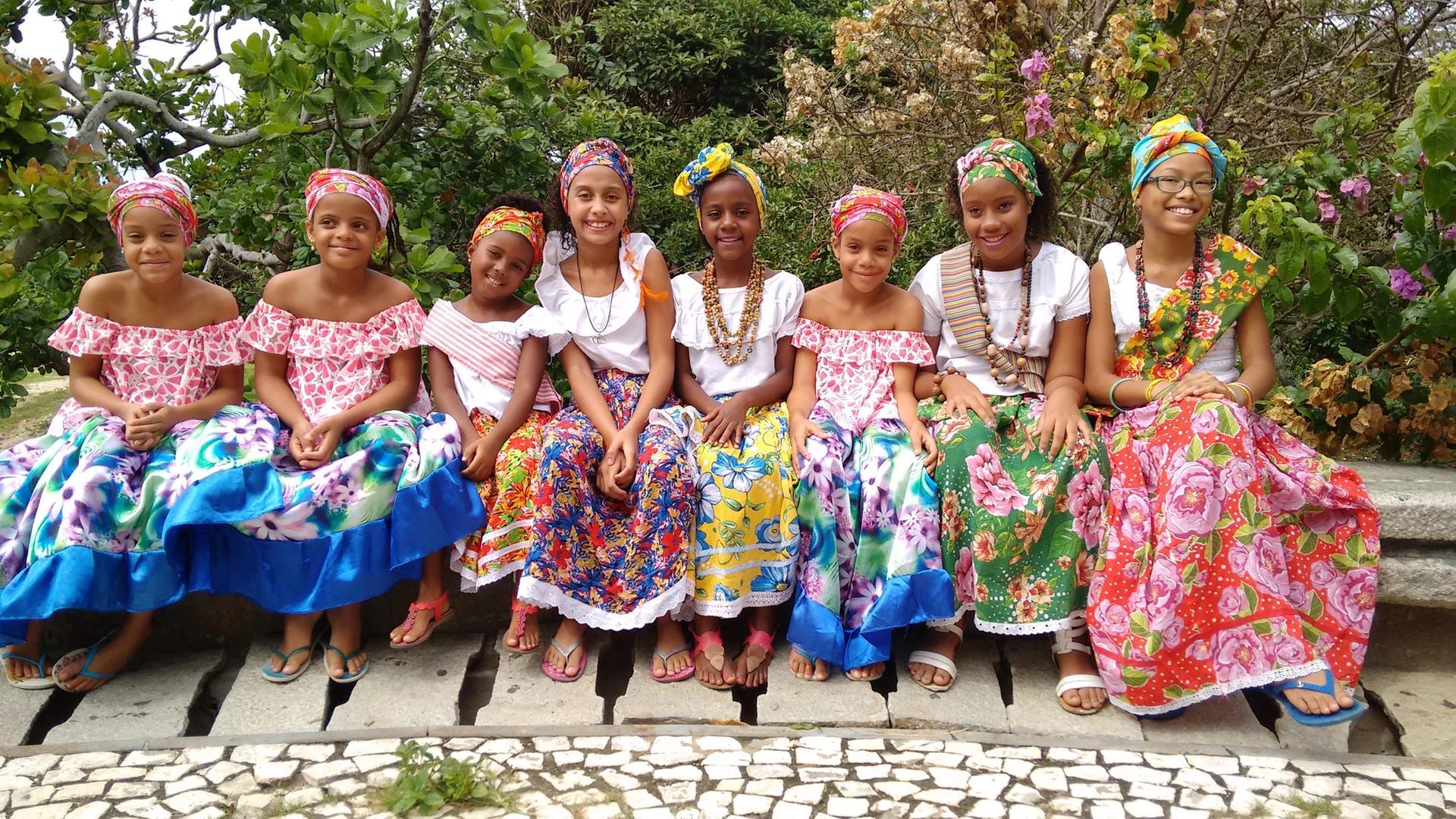 Tradição que atravessa gerações. Foto: Acervo da Associação Cultural As Ganhadeiras de Itapuã
