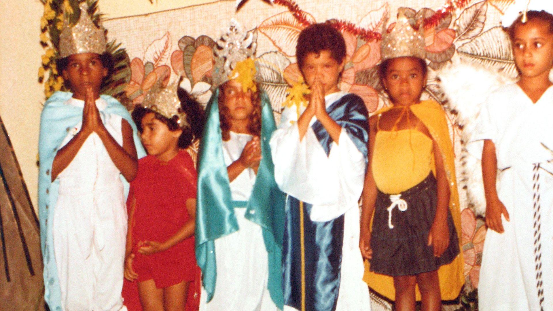 Terno de Reis. Foto: Acervo da Associação Cultural As Ganhadeiras de Itapuã