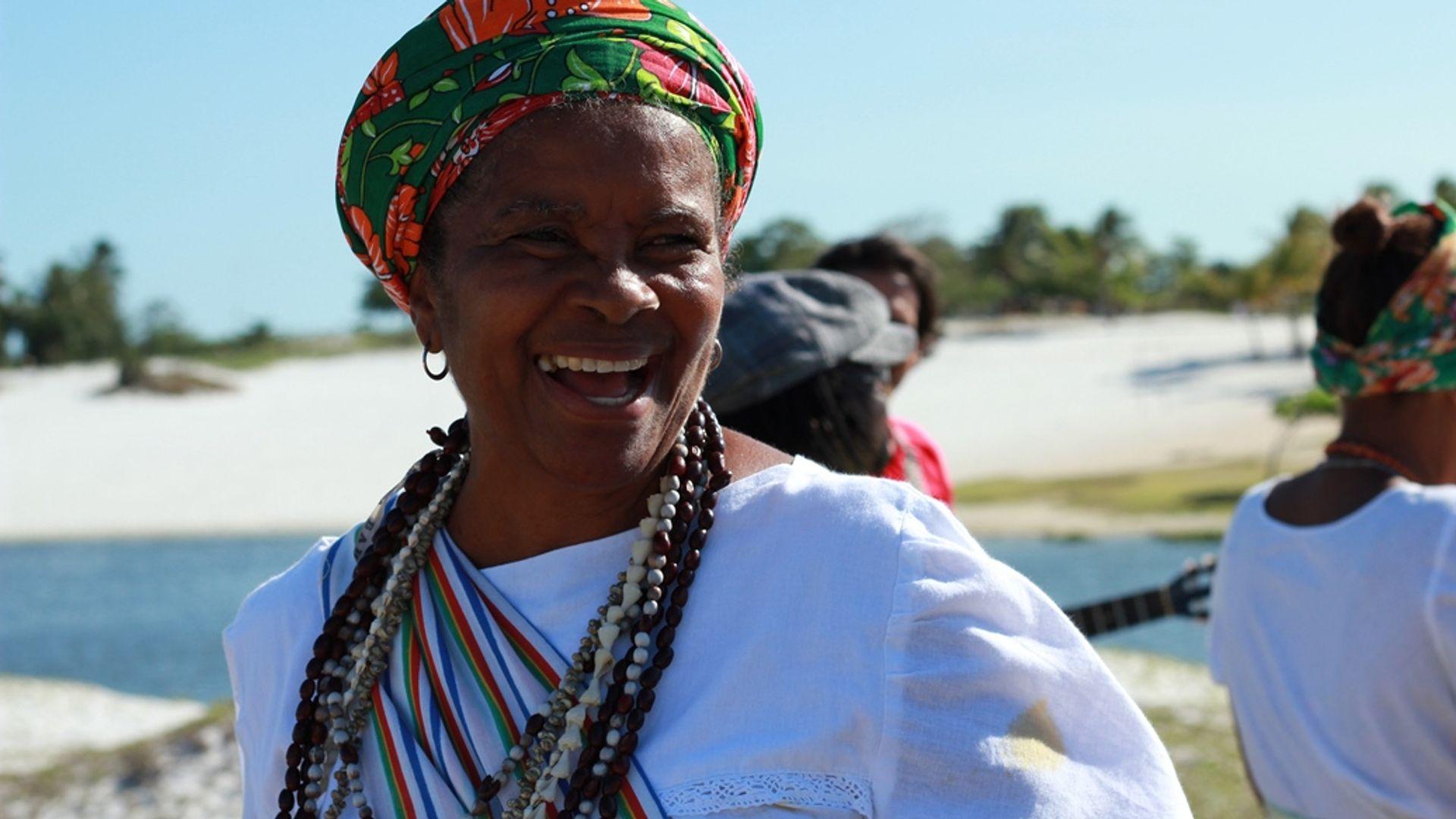 Maria de Xindó. Foto: Acervo da Associação Cultural As Ganhadeiras de Itapuã
