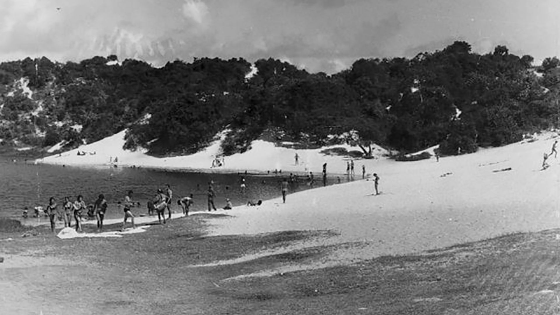 Lagoa do Abaeté, década de 1970