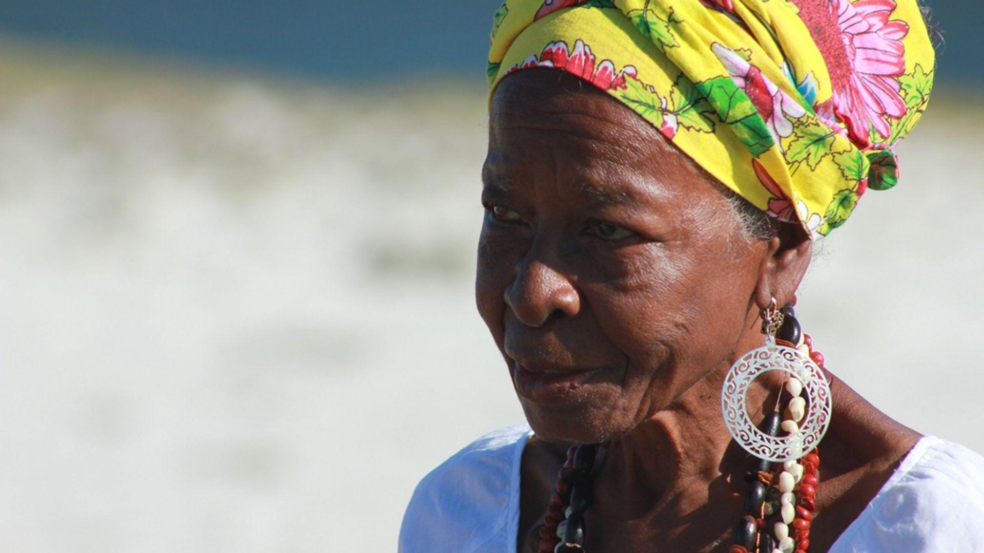 Dona Nicinha. Foto: Acervo da Associação Cultural As Ganhadeiras de Itapuã