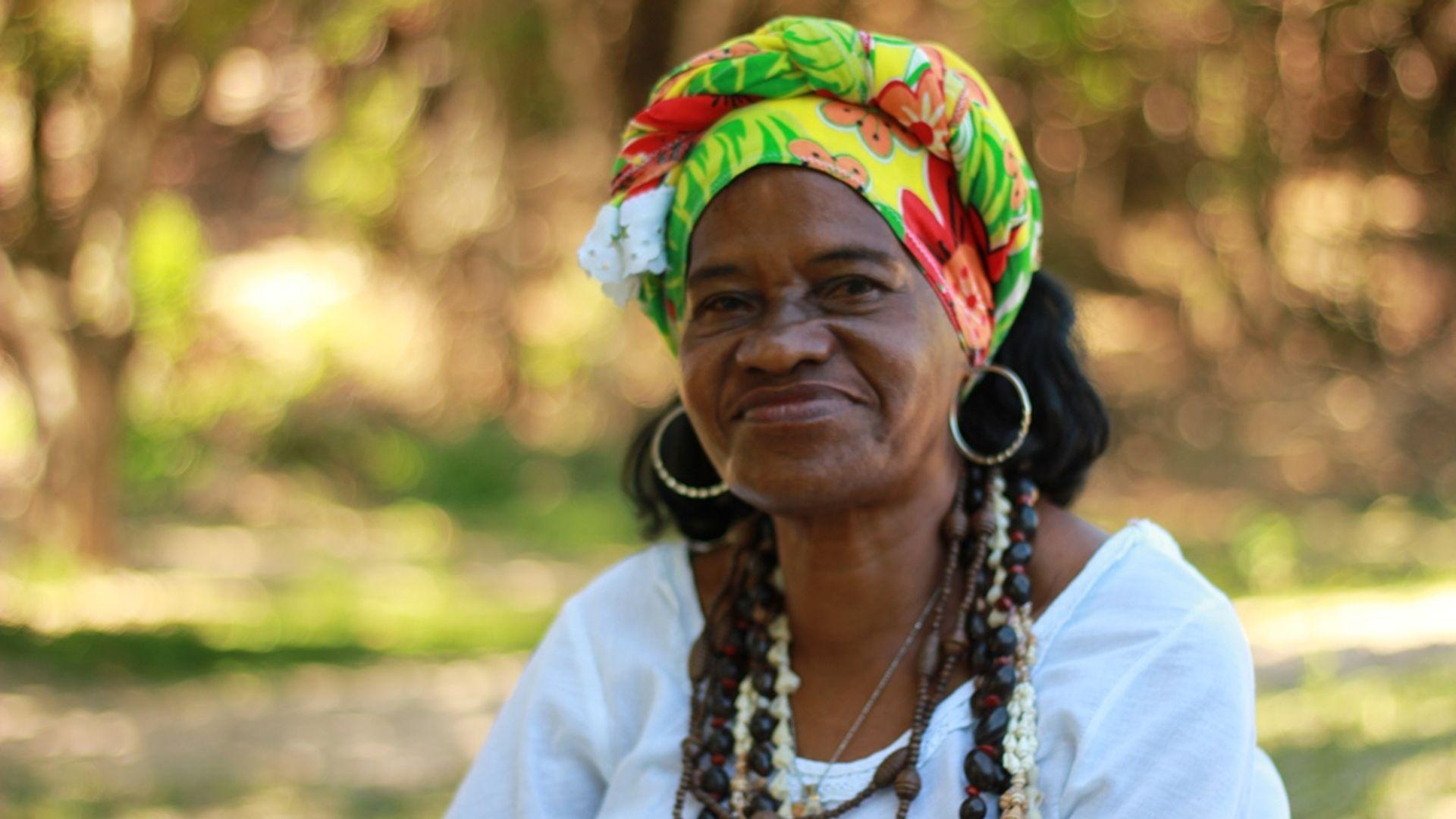 Jaci. Foto: Acervo da Associação Cultural As Ganhadeiras de Itapuã