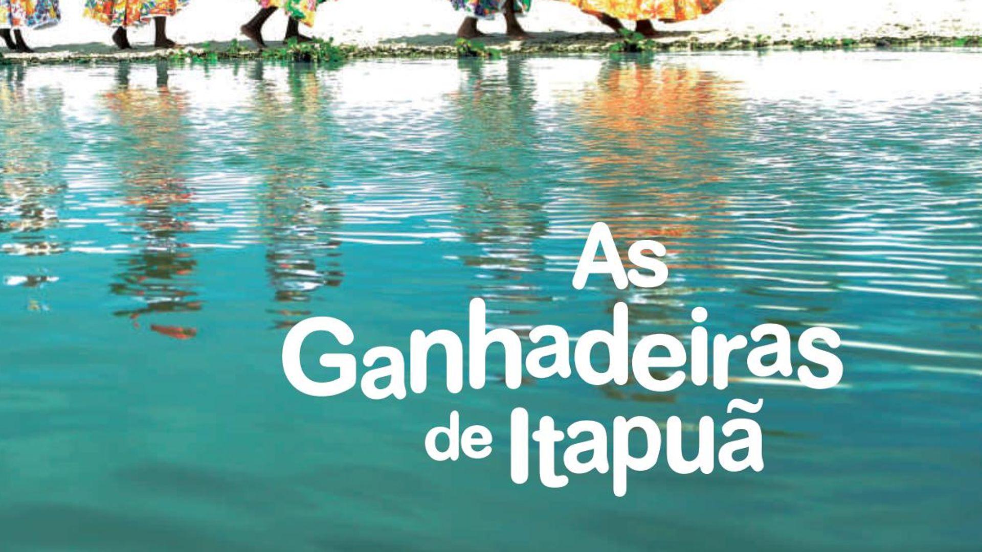 """Foto: Capa do CD """"As Ganhadeiras de Itapuã"""" (Coaxo de Sapo)."""