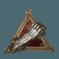 Gauntlet signifying strength in Baldur's Gate 3